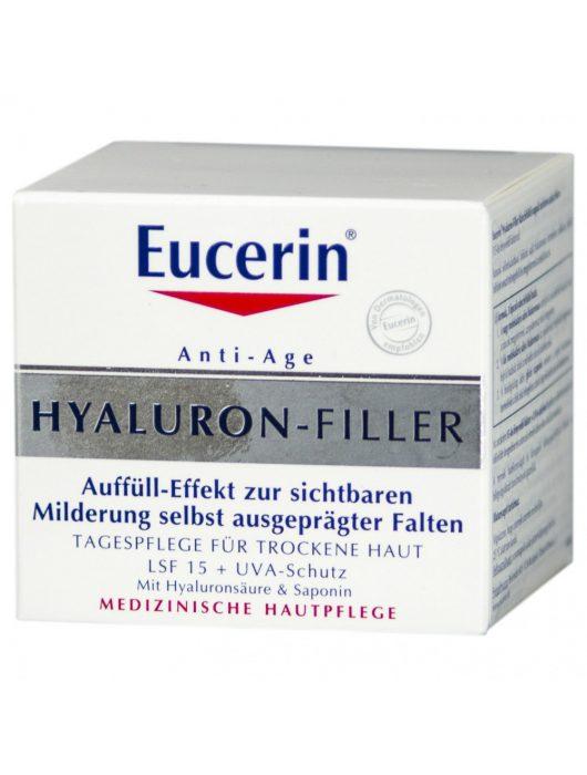 Eucerin HYALURON-FILLER nappali krém száraz bőrre 50 ml - de