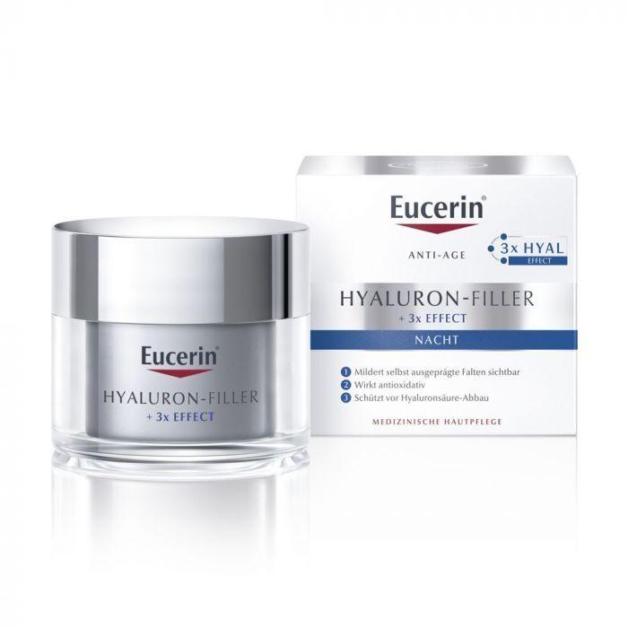 Eucerin HYALURON-FILLER éjszakai krém 50 ml - dermoexpressz.